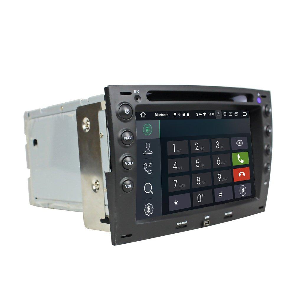 Android 8.0 Octa Core coche reproductor de DVD GPS navegación Multimedia estéreo del coche para Renault Megane 2002 2003 2004 2005 2006 2007 2008 2009 2010 ...