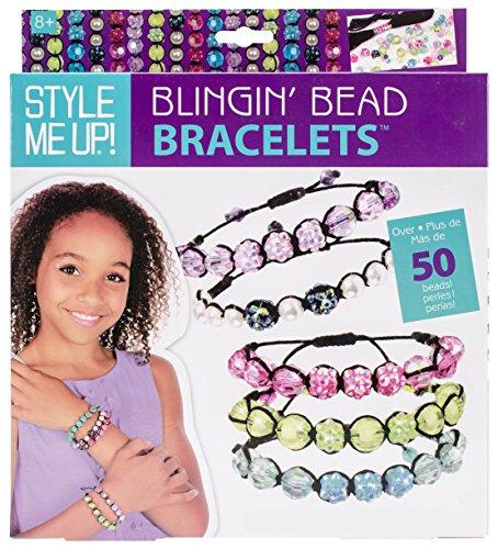 Aquastone Group Style Shamballa Bracelet