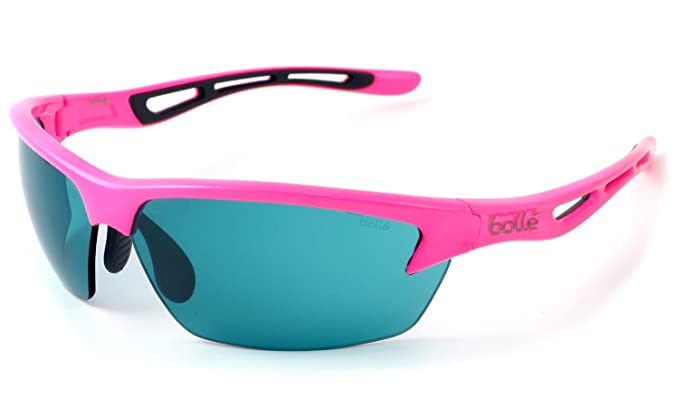 379c0571eb Bolle Bolt Tennis Series Sunglasses in Neon Pink with Competivision Lens   Amazon.co.uk  Clothing