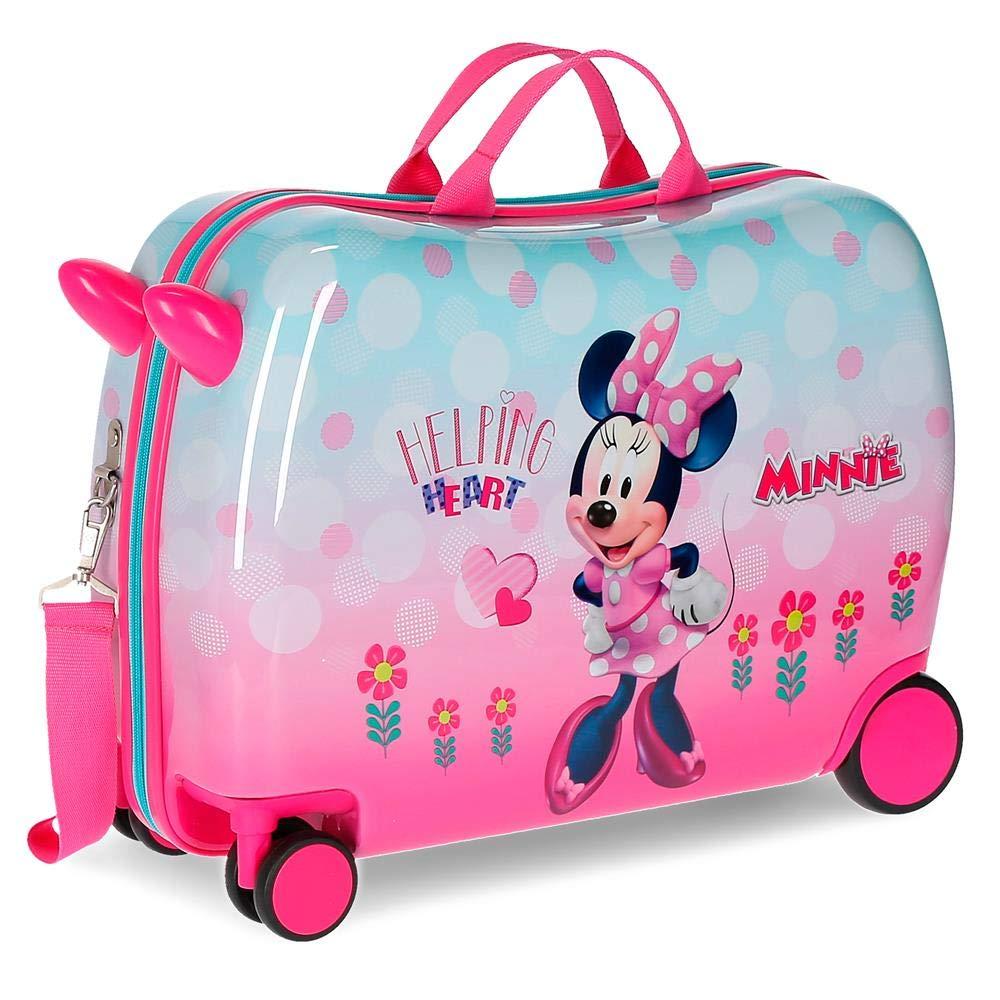 Disney Minnie Heart Equipaje de mano 50 cm Rosa 31.5 litros