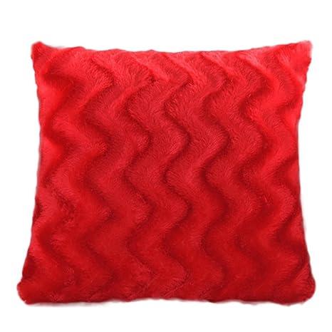 Ruikey rizo felpa casera decoración sofá cintura tirar ...