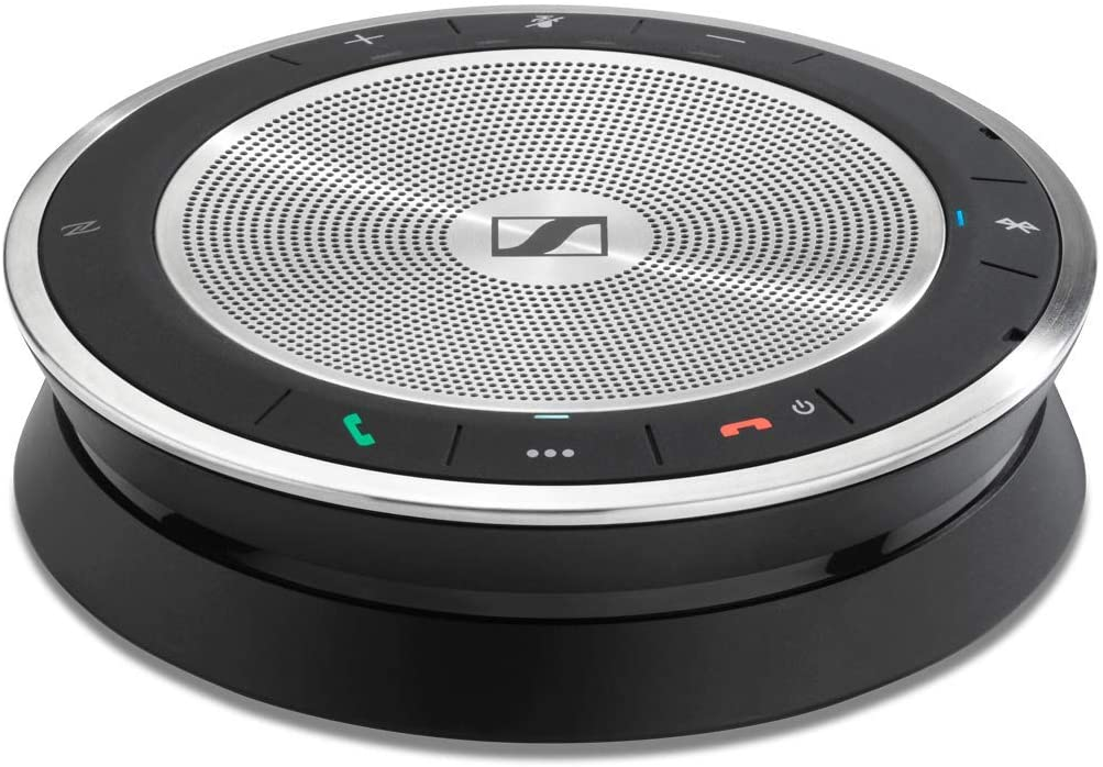 Sound-Enhanced Desk SENNHEISER SP 30 508345 Wired or Wireless Speakerphone Mobile Phone /& Softphone or PC Connection Unified Communications Optimized