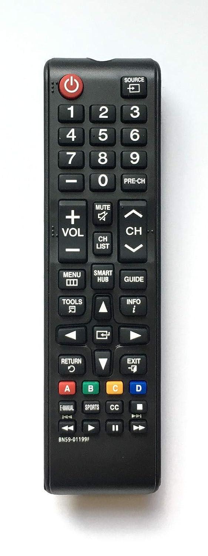 交換用リモコン BN59-01199F サムスン UN46B7000 UN46B7100 UN46C5000 LCD LED HDTV スマートテレビ用   B07PSMBHVZ