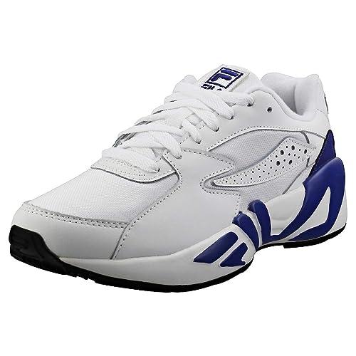 Fila Mujer Blanco/Azul Marino/Negro Mindblower Zapatillas: Amazon.es: Zapatos y complementos