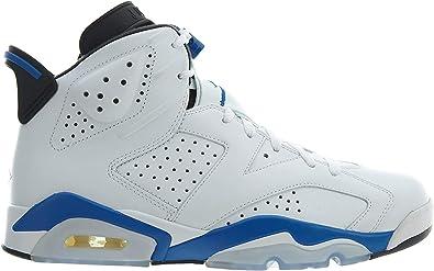 all blue jordan retro 6