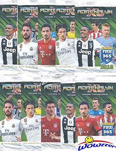 PANINI FIFA 365 ADRENALYN XL 2018 EDITION TRADING CARDS NEW 15 Packets Sealed