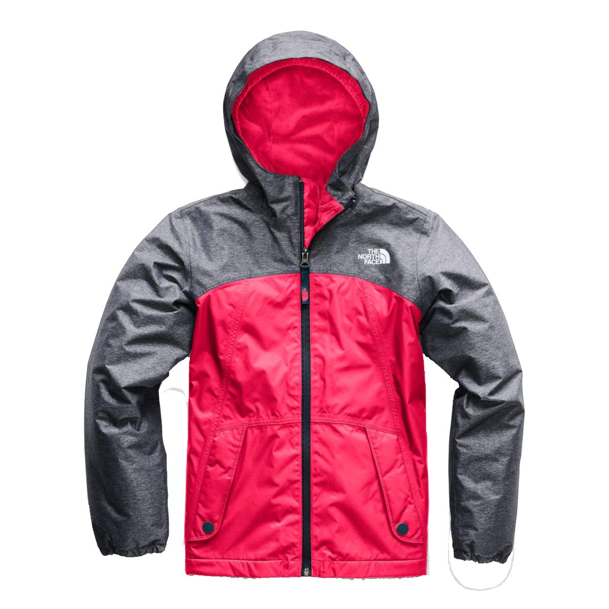 The North Face Girl's Warm Storm Jacket - Atomic Pink - L