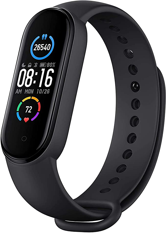 Xiaomi Mi Band 5, Smart Band 5 versión global, reloj inteligente con pulsera de actividad, pantalla a color AMOLED de 1…
