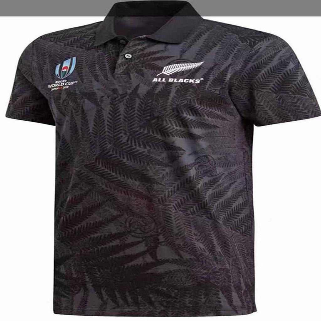 Rugby Polo De Manga Corta 2019 Copas Del Mundo (RWC) Nueva Zelanda ...