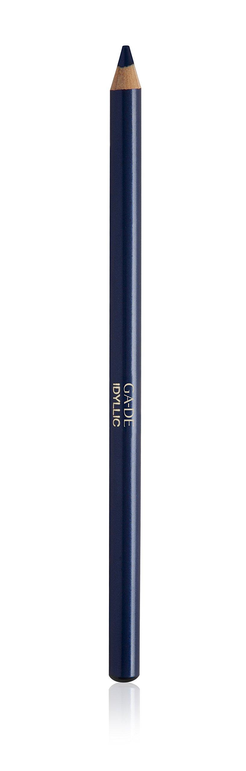 Pencil Idyllic Kajal Eyeliner By GA-DE COSMETICS (Midnight Blue No.201)