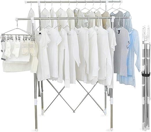 Amazon.co.jp : アイリスオーヤマ 洗濯物干し 物干し 室内物干し 多 ...