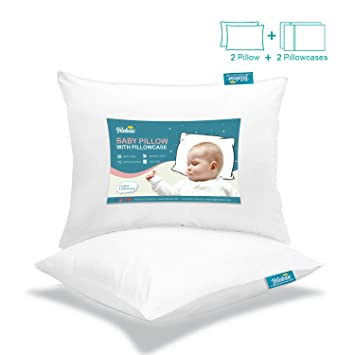 Organic Toddler Pillow For Best Bedtime Nap Travel Airplane My Crib Throw Neck