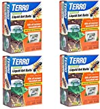 Terro Outdoor Liquid Ant Bait Stations (4 Pack / 6 Bait Stations Per Pack)