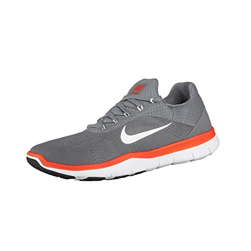 3a814c48fd029 Nike - Free Trainer V7-898053001 - Color  Grey-Orange-White - Size  10. 0   Amazon.in  Shoes   Handbags