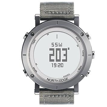 NORTH EDGE Norte Borde Digital Relojes para Hombre Reloj de Deporte Militar Moda Hombres Pantalla LED