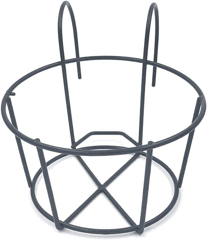 OUNONA - Soporte de metal para macetas colgantes de hierro con ...