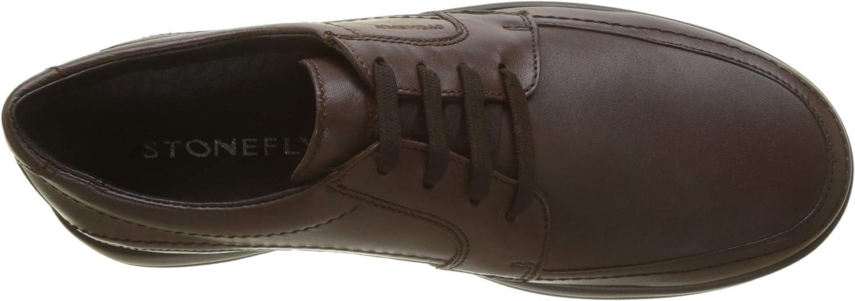 Oficial Multicolor Calidad Superior Stonefly Season III 2 bis Nap, Zapatos de Cordones Derby para Hombre Marrón Mocha Brown 330 T3Ktol LKUFPG Hz0u7Q