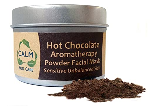 Calm Natural Skin Care - Hot Chocolate Aromatherapy Powder Facial Mask