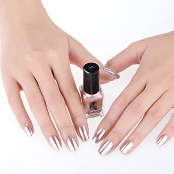 Rosennie 6ml mirror nail polish plating silver paste metal color rosennie 6ml mirror nail polish plating silver paste metal color nail oil for nail art prinsesfo Choice Image