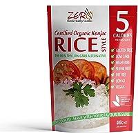 Zero Slim & Healthy Noodles Organic Konjac Rice, 400 g