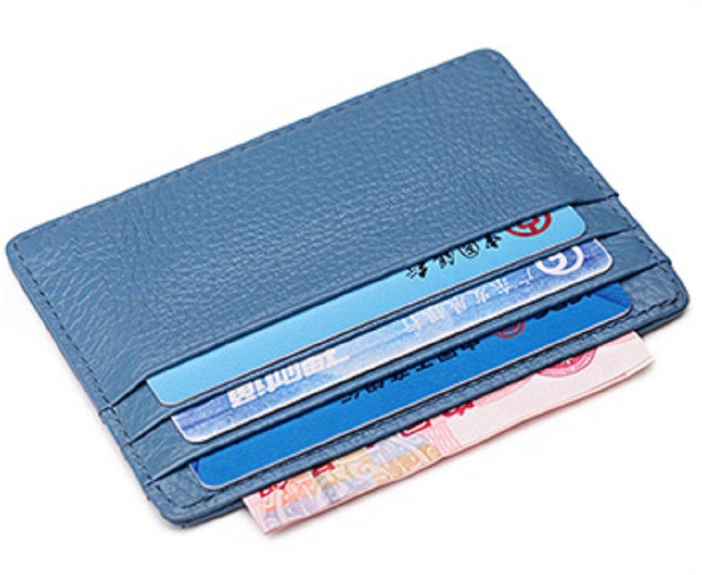 Cardholder aus samtweichem, europäischem Leder mit Platz für sechs Kreditkarten, Card Holder Kreditkartenhalter Kartenetui Kreditkarte Kartenhalter C3203RO_ES