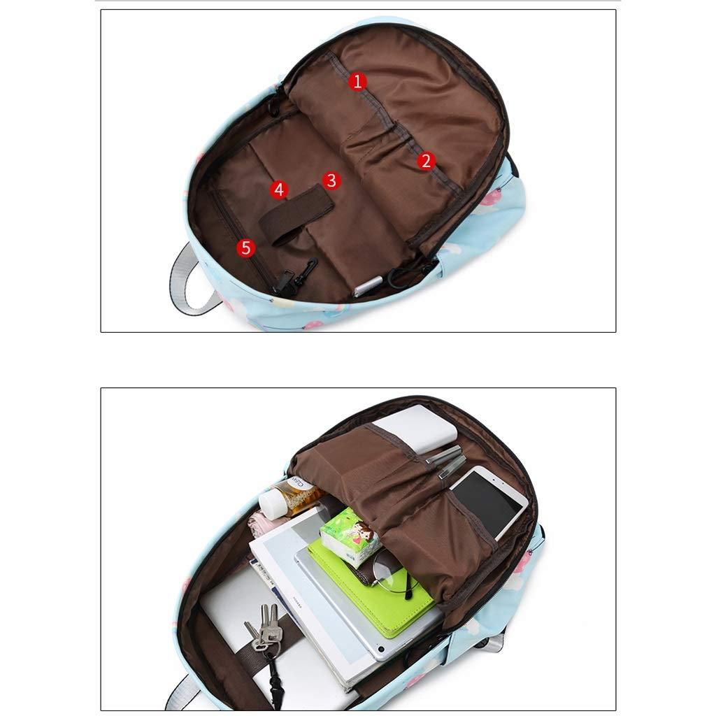 lixin Bolsa de de de Viaje Bolsa de Estudiante Bolsa de Viaje de Gran Capacidad (Color : B, Tamaño : 40  30cm) b7ff95