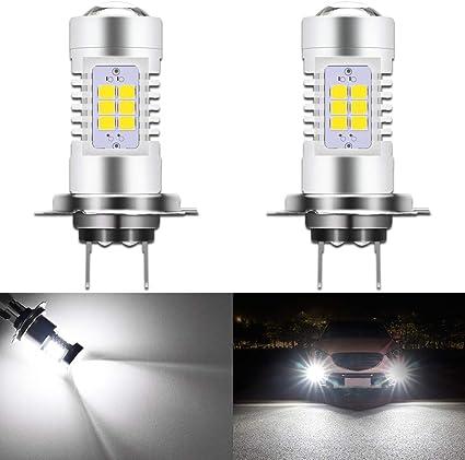 FITS AUDI A4 B8 2 x H7 CREE 16 LED HEADLIGHT BULBS FOG LIGHTS BEST QUALITY