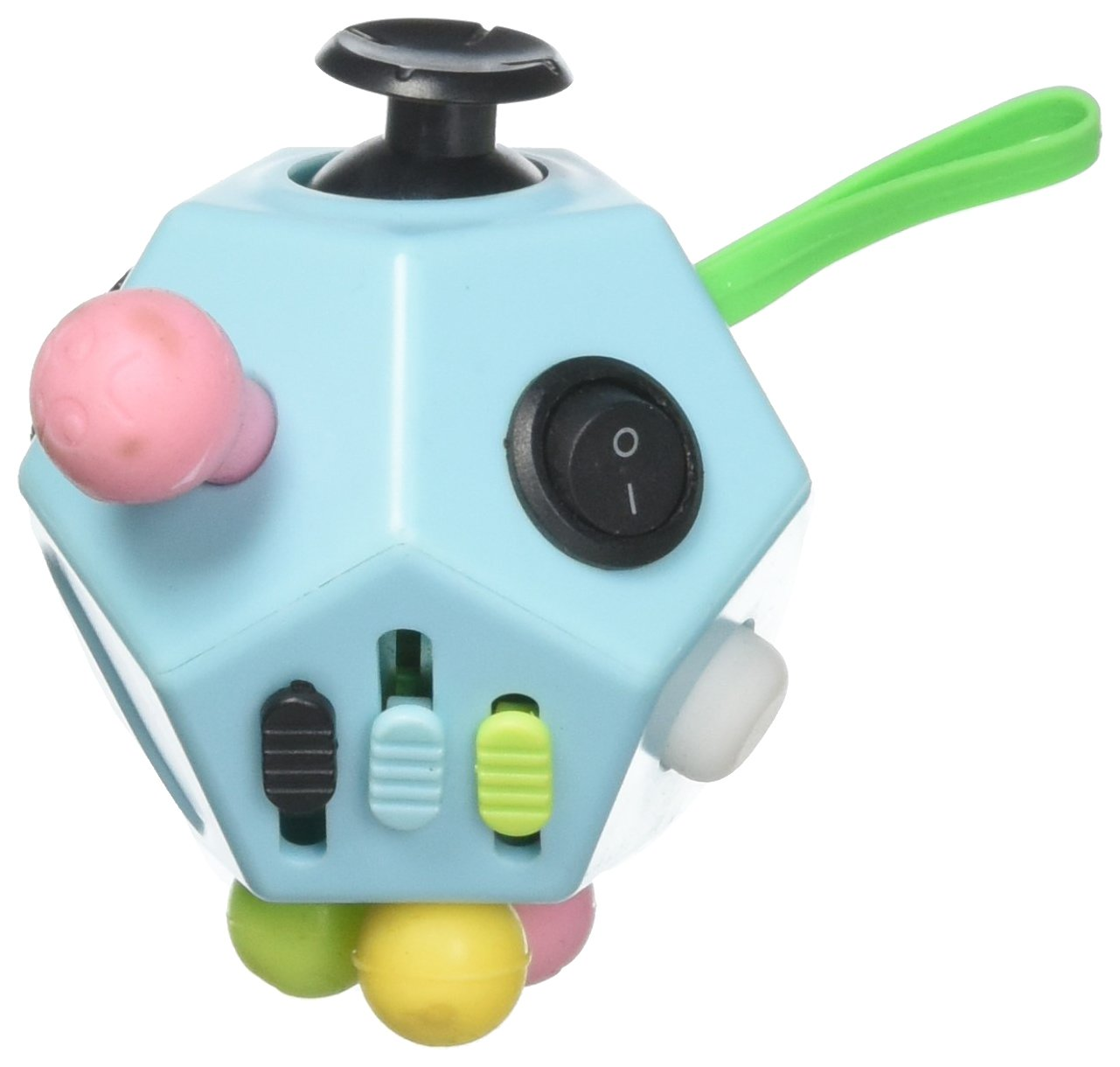 Fidget Dodecagon – 12 Sided Fidget Cube Relieves Stress and Anxiety – Toy Increases Focus and Attention for Children and Adults with ADHD, ADD OCD, and Autism (Copper) Twiddler Toys DGT437