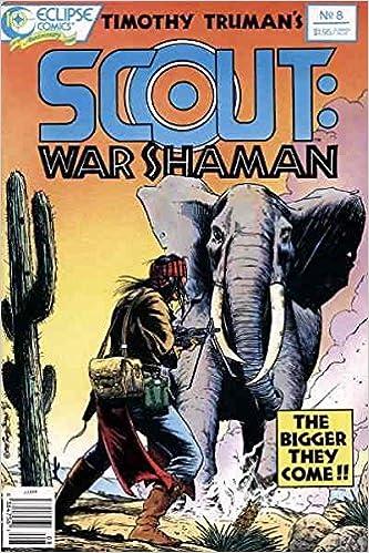 War Shaman No.8 Scout 1988 Timothy Truman