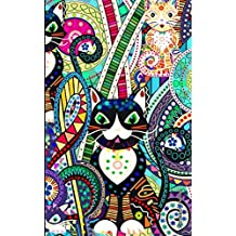 Password Journal: ID Keeper in a Diary Book to Log ~400 Internet Addresses and Security Alphabetically (A spacious, softback mid size notebook) It is from our Carnival Cats range