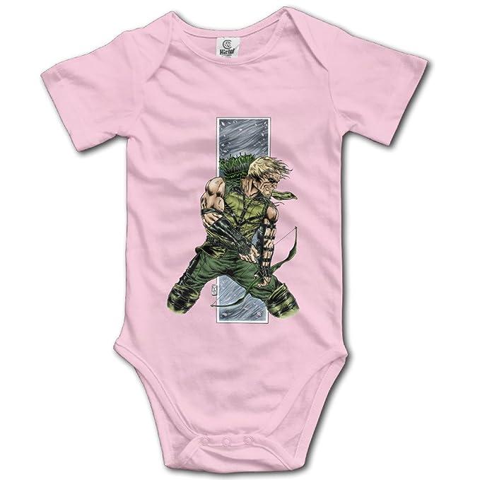 Amazon.com: Flecha Verde Comic Superhero bebé Onesie bebé ...