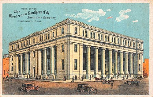 Postcard The Western Southern Life Insurance Company Cincinnati  Ohio 112985