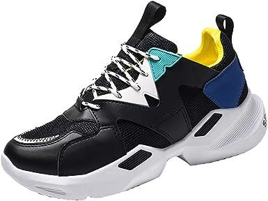LuckyGirls Zapatillas de Deporte, Hombre Mujer Zapatillas Deporte Transpirable Antideslizante Zapatos Running Deportivas para Fitness Sneakers Athletic Al Aire Libre: Amazon.es: Ropa y accesorios