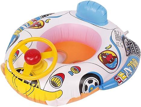 Flotador Bebe Asiento Flotador Barco de bebé Anillo Piscina ...