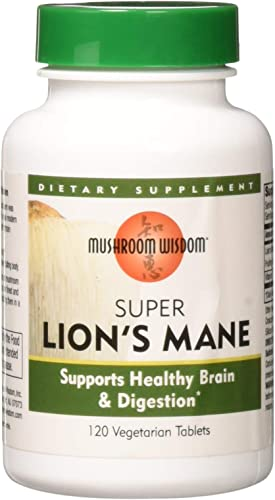 Mushroom Wisdom Super Extract, Lion s Mane, 120 Count