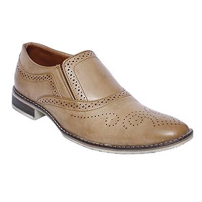 DESI JUTA New Latest Fashion Stampede Formal Synthetic Mocassion Shoes for  Men Mens Men s 700df865509e