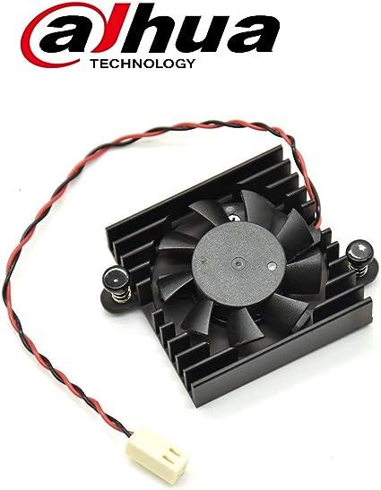 Original Dahua Heatsink Cooling Fan w// 2 Wires 2 Pins for DVR//HDCVI Motherboard