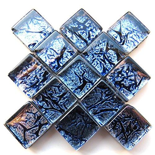 Carreaux de mosa/ïque artisanale 10/mm Tuile /à revers en aluminium Cobalt 50/g