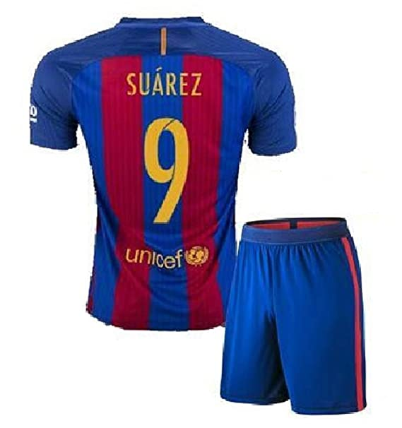 FC BARCELONA MESSI  10 FOOTBALL SOCCER KIDS YOUTH HOME JERSEY (M size (for  age 8-10) 4d129d5b9