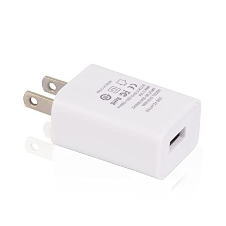 Amazon.com: 5 V 1 A USB Plug Cargador, adaptador de ...