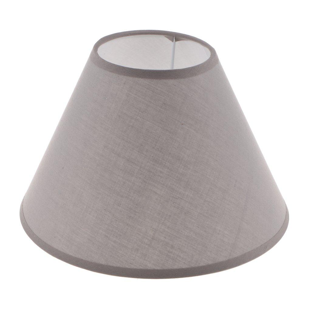 KESOTO E27 Abat-jour de de Lampe pour Table,Lustre Plafonnier pour Chambre Bureau Cuisine, Restaurant, Café , Bar - Orange Café