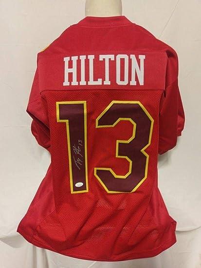 best sneakers a2a0d dbc41 Signed T.Y. Hilton Jersey - TY Custom Pro Bowl - JSA ...