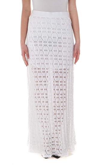 Pinko - Falda DE Mujer 1G11RS5817 GLAUCO Blanco 38: Amazon.es ...