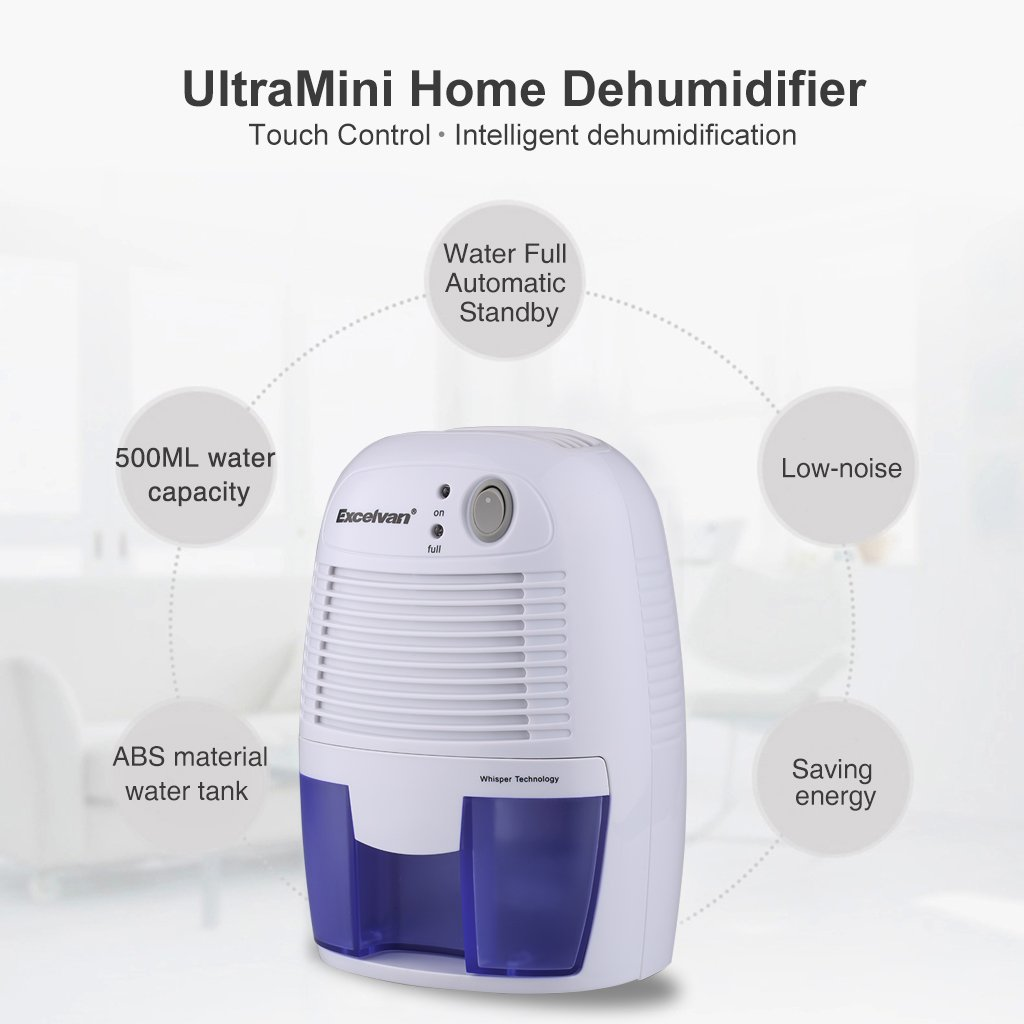 Small Dehumidifier For Bedroom Amazoncom Excelvan Mini Air Compact Dehumidifier Portable Dryer