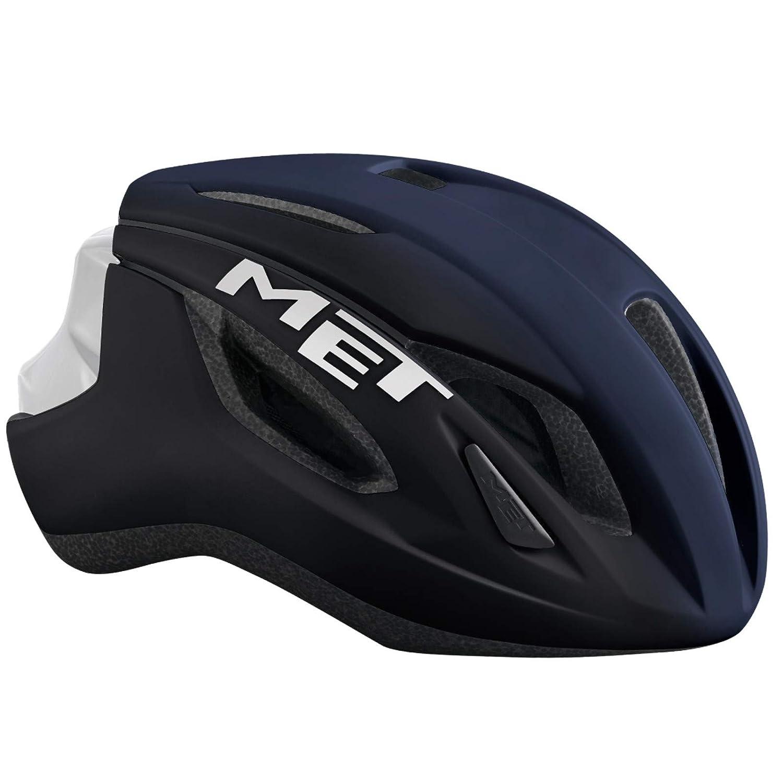 メット ストラーレ ブルー×ホワイト ヘルメット L(59/62cm)   B075XNN3FY