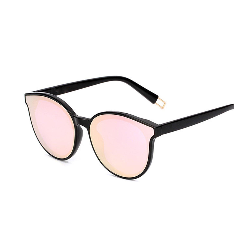 Amazon.com: Cat eye glasses women men classic mirror oculos ...