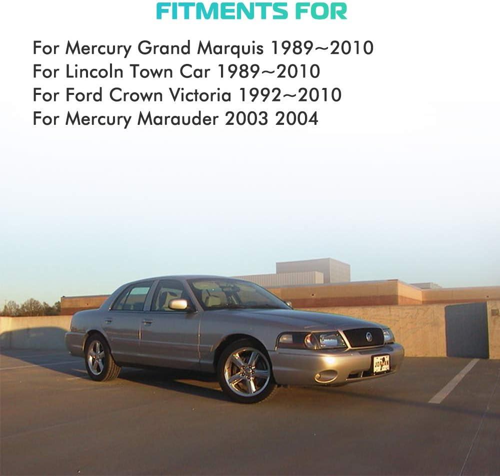 2Rear Air Spring Suspension Fit for Ford Crown Victoria//Lincoln Town Car//Mercury Grand Marquis//Mercury Marauder