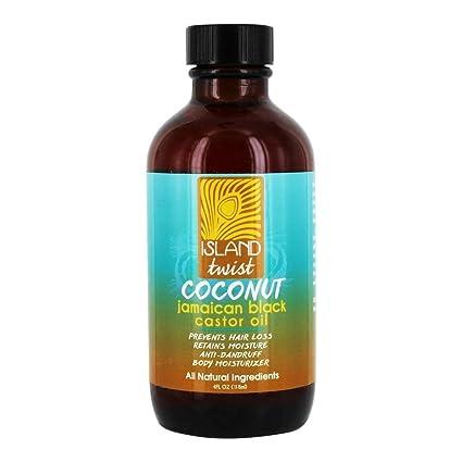 Island Twist - Coco de aceite de ricino negro de Jamaica - 4 la Florida.