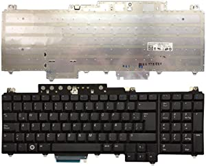 Laptop Replacement Keyboard Fit Dell Inspiron 1720 1721 0UW739 Latin Layout