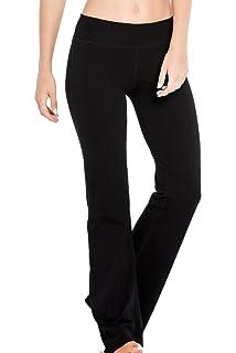 7cedfaf072afa Houmous S-XXL Petite/Regular/Tall Length, Women's Yoga Bootleg Pants Inner